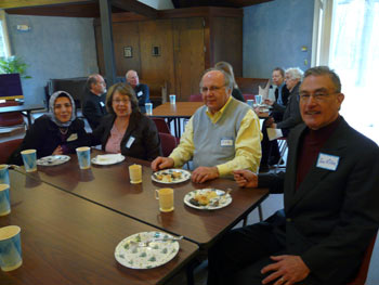 Abraham Table Luncheon with Christ Presbyterian church in Martinsville