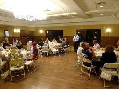 Ramadan Dinner at Temple B'nai Or