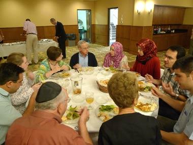 Ramadan Dinner at Temple B'nai Or, Morristown