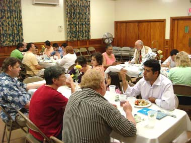 Ramadan Dinner at Calvary United Methodist Church