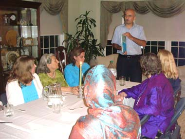 Ramadan Dinner at Notre Dame Church, North Caldwell
