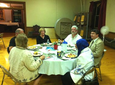 Ramadan Dinner at Christ Episcopal Church