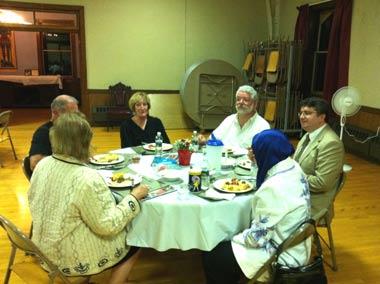 Ramadan Dinner at Christ Episcopal Church