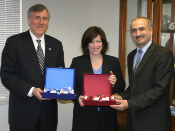 Bergen County Executive and Rutherford Mayor Visited IDC