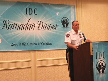 Ramadan Dinner in Honor of Law Enforcement